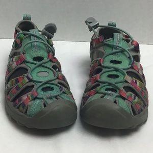 Keen multicolored waterproof trail sandals. 3